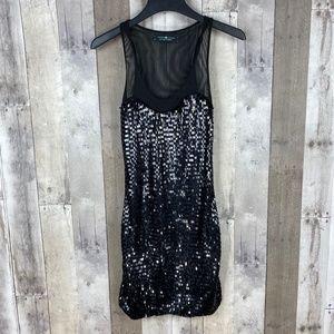 Cache Cache Sleeveless Sequin Dress